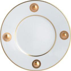 $90.00 Ithaque Gold Salad Plate 8.25""