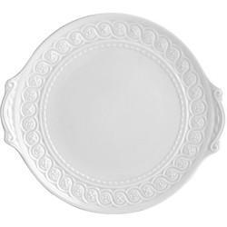 $152.00 Louvre Handled Cake Platter Rd