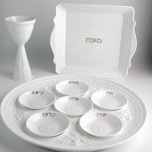 $266.00 Louvre Seder Plate