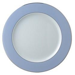 $121.00 Opaline Wallis Blue Charger