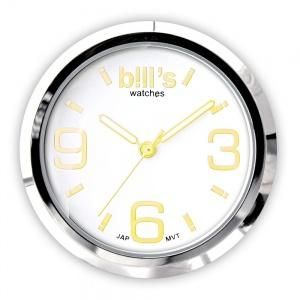 $35.00 Watchface Gold/White