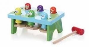 Bop & Pop Wooden Toy