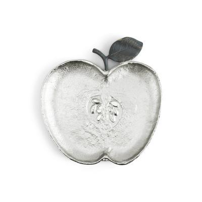 $95.00 Apple Plate in Nickel