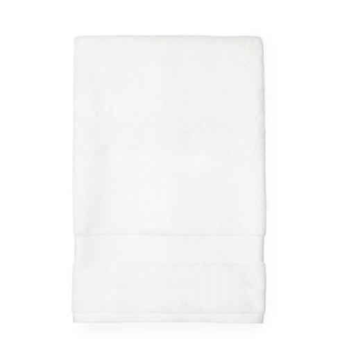 $121.00 Bello White Bath Sheet