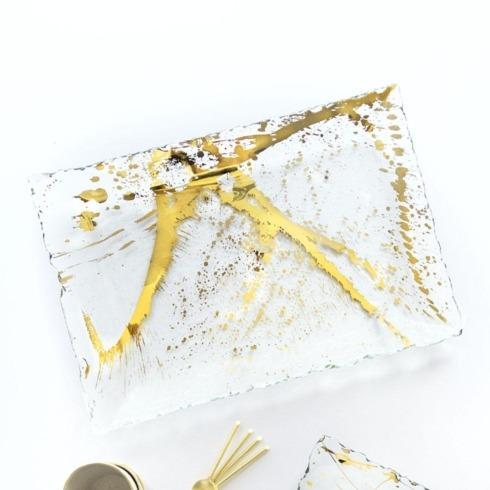 Contemporary Concepts Exclusives   AnnieGlass Jaxson Martini Tray $204.00