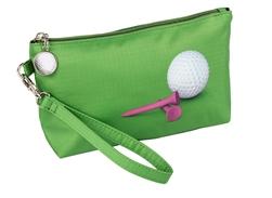$25.00 Golf Cosmetic Wristlet/Clutch