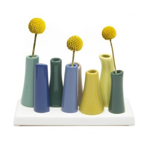 Contemporary Concepts Exclusives   Chive Pooley 2 - Green Smoke (8 Vase assortment) $34.99