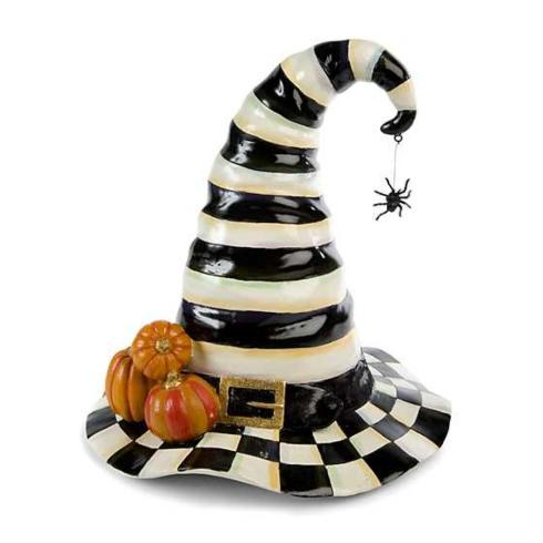 $168.00 Courtly Stripe Witch\'s Hat