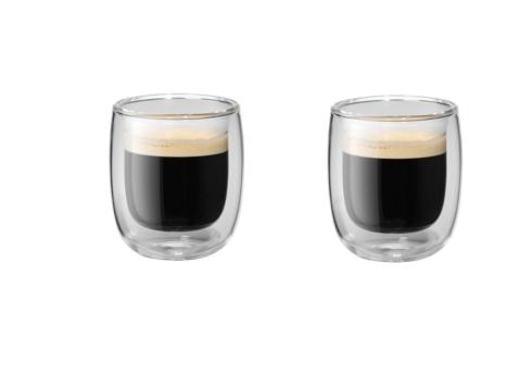 $15.99  Zwilling JA Henckels Sorrento Espresso Glass, Glass, 2-Piece
