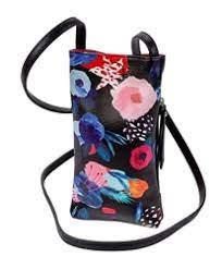 $26.00 Black Floral Cell Phone Holder