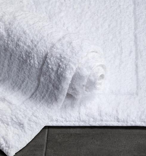 """$97.00 Maestro White Bath Rug 23"""" x 39"""""""