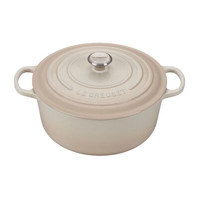Le Creuset  Meringue 5.5 Quart Round French Oven - Meringue $339.99