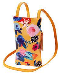 $26.00 Yellow Floral Cell Phone Holder
