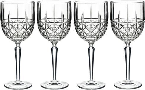 Waterford   Brady Wine set/4 $42.50
