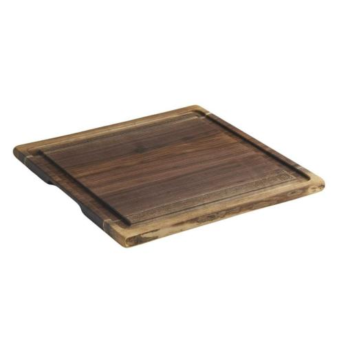 Andrew Pearce   LARGE LIVE EDGE CUTTING BOARD WITH JUICE Tray GROOVE $195.00