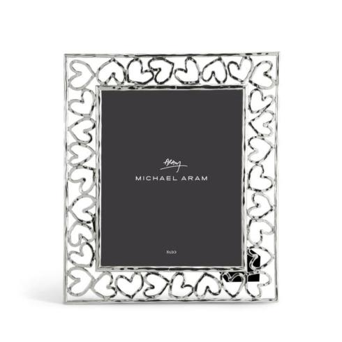 Contemporary Concepts Exclusives  Michael Aram Silver Heart Frame 8x10 $112.50