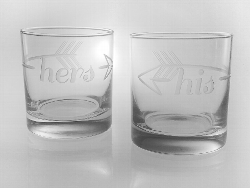 Rolf Glass   His & Hers Glasses $34.99