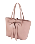 $65.00 Bow Tote Large Pink