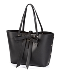 $65.00 Bow Tote Large black