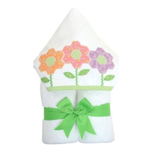 $60.00 Daisy Flower Themed Everykid Towel - Personalized