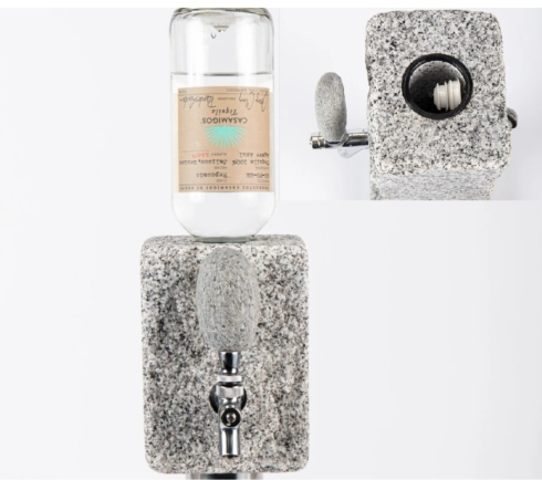 Funky Rock Designs  Stone the ultimate stone beverage dispenser $165.00