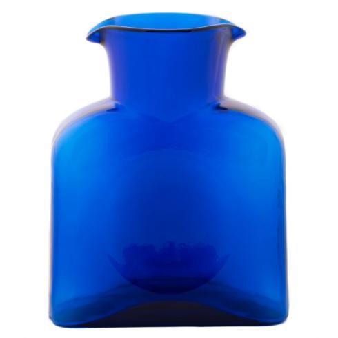 """$53.00 8"""" Bottle / Carafe Cobalt"""