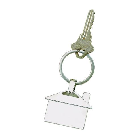 $24.99 House Shaped Key Chain - Engravable