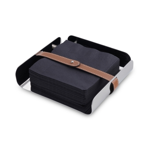 Contemporary Concepts Exclusives  Nambe Tahoe Napkin Holder $50.00