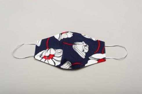 $25.00 Fashion Mask Maui Navy