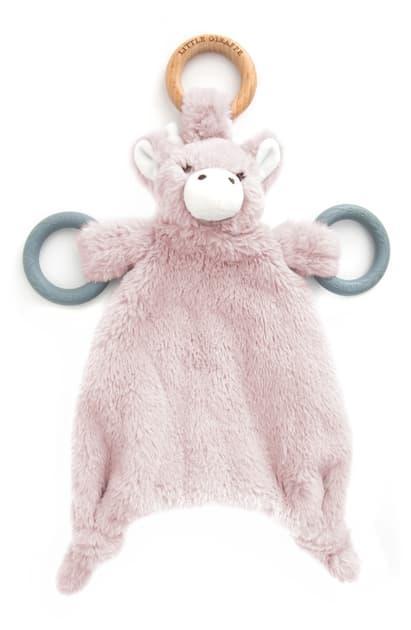 $32.00  cuddle boo blanket dusty pink