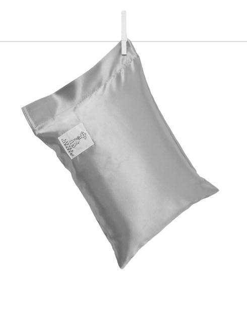 $28.00 Satin Nap Pillow - silver