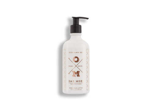 OAK MOSS GOAT MILK LOTION 12.5 oz