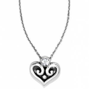 $30.00 Jn7272 Sil/Stn Alcazar Heart N