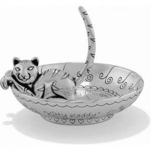 $42.00 G50070 Sil Kitty Kaddy Rng Hld