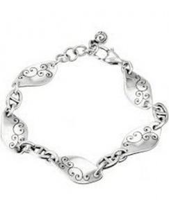 $37.00 J37100 Sil Twirl Bracelet