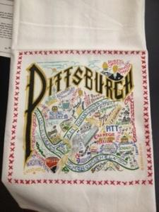 catstudio   Pittsburgh Dish Towel (Color) $20.00
