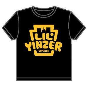 $18.00 Lil\' Yinzer Black Tee Sz 2