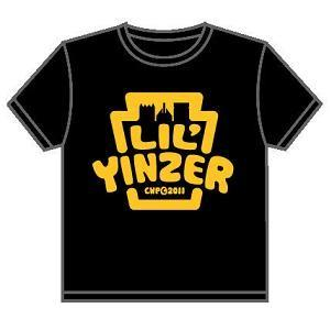 $18.00 Lil\' Yinzer Black Tee Sz 4