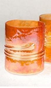 "$20.99 Prieto Tumbler Orange ""Gold"""