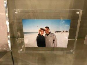 "JDS Gifts   Acrylic 6""X8"" Frame $44.99"