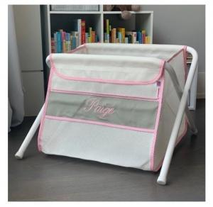 $129.00 Toy Box Grey Pink