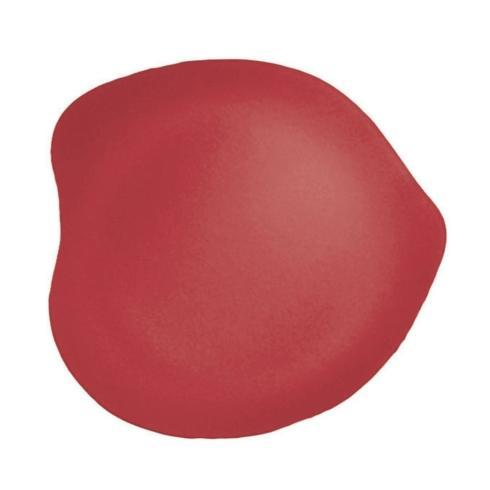 """$35.00 Freeform 13"""" Plate Red"""