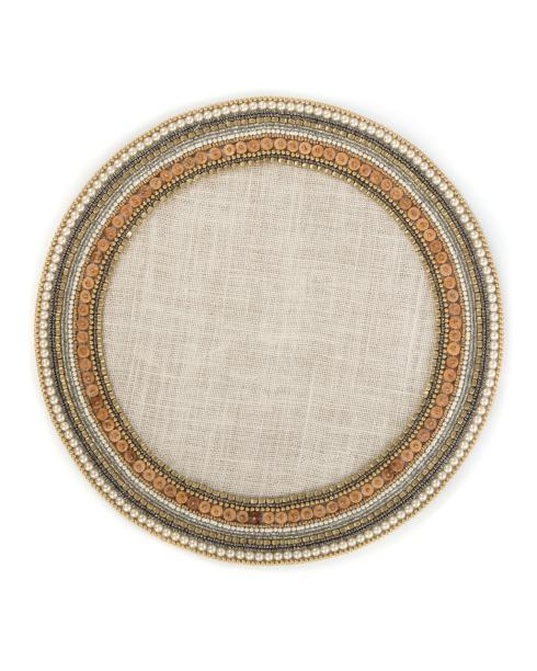 $35.00 Jeweled Circle Placemat - Retired - Only 3 remain