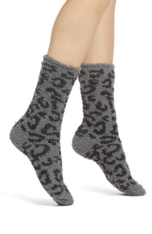 $18.00  CozyChic Women\'s Barefoot In The Wild Socks Graphite/Carbon