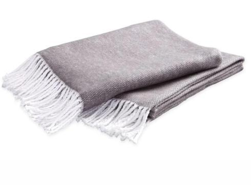 $75.00 Pezzo Throw Charcoal