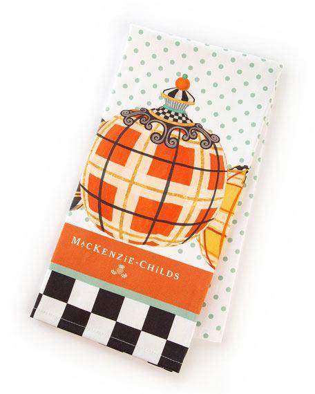 $17.00 Mackenzie Childs Tartan Spice Dish Towel