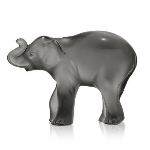 $550.00 Elephant Figure Grey