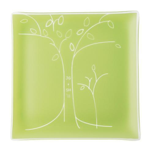 "$89.95 11"" Citron Tree Engraved with Initials and Date"