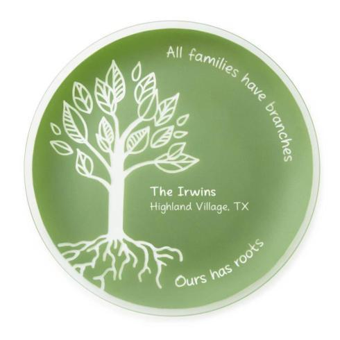 $85.00 All Families Have Branches Round Platter