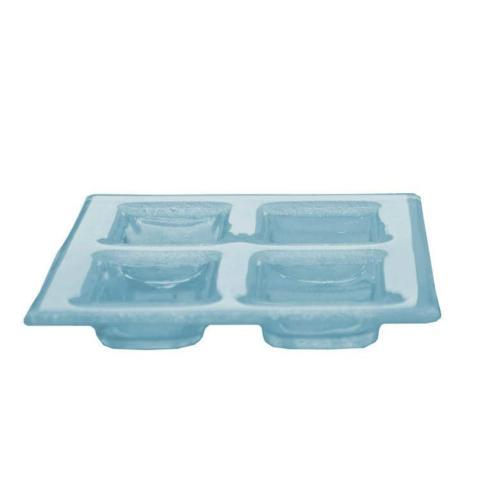 $20.00 4 Cell Dish Blue